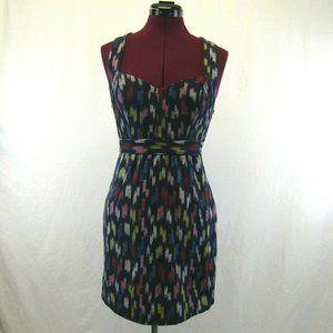 Staring at Stars Blue Rainbow Stripe Jumper Dress
